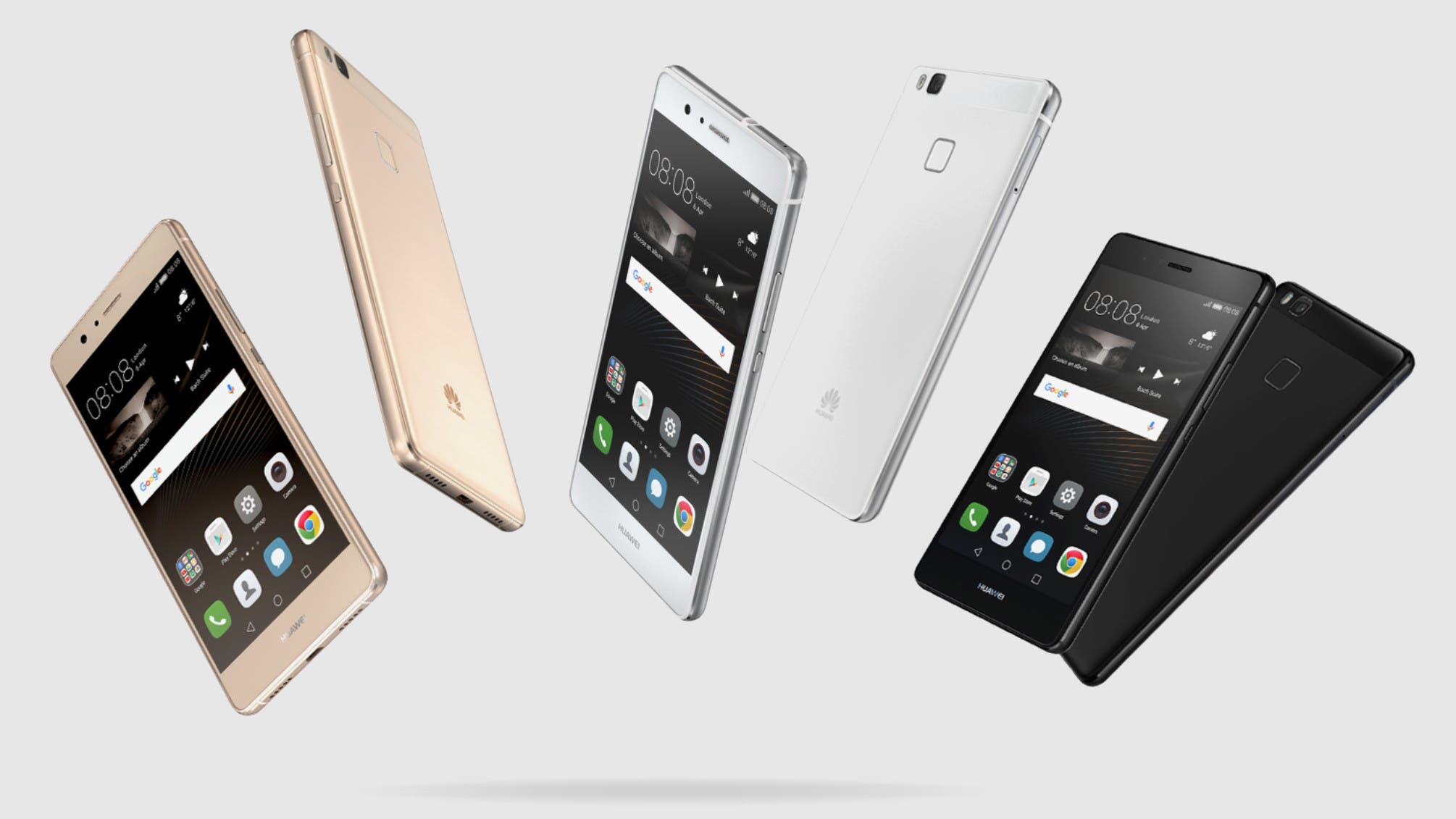 Huawei P9 Lite colores