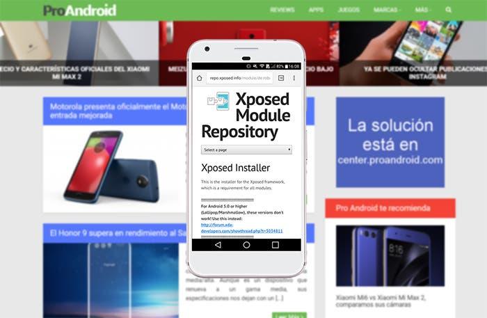 Cómo instalar Xposed en un smartphone Android