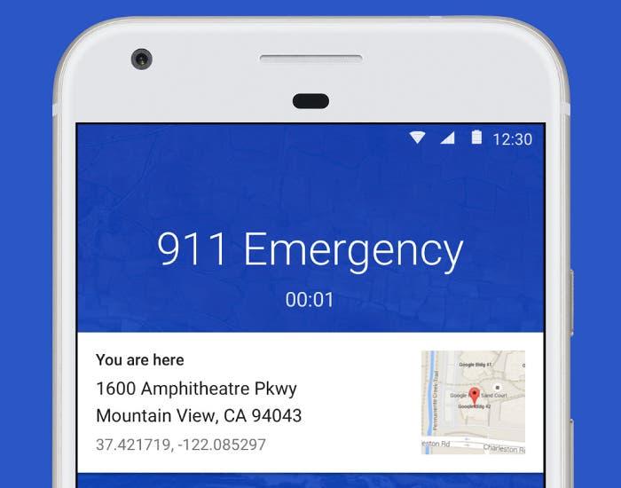 La aplicación Teléfono de Google ahora te dice dónde estás si llamas a emergencias