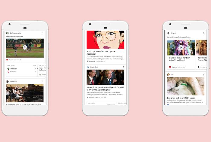 Google Feed: el nuevo apartado que sustituye a Google Now