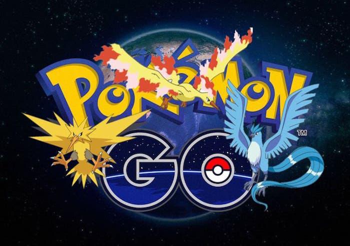 Ya están aquí los Pokémon legendarios en Pokémon Go