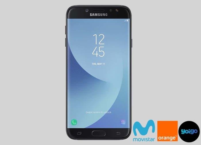 Así está el precio del Samsung Galaxy J7 en Yoigo, Movistar y Orange