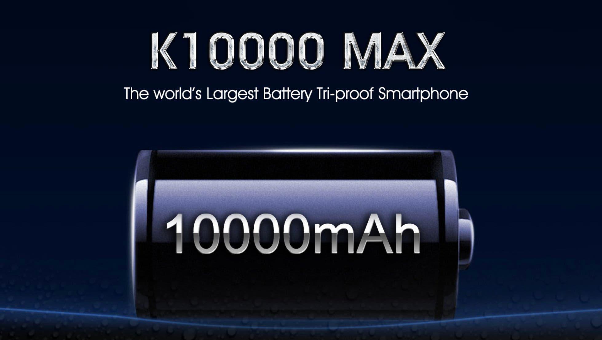 Oukitel k10000 Max bateria