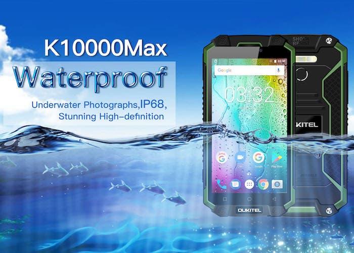 Llega el nuevo Oukitel K10000 Max más resistente y con un gran descuento