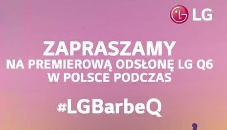 Invitación LG Q6 02
