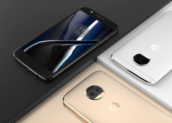El diseño oficial del Moto G5S Plus aparece en una imagen de prensa
