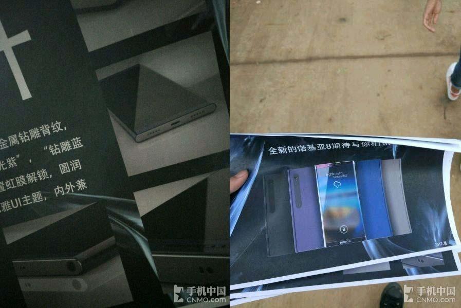 Imágenes de prensa del Nokia 8