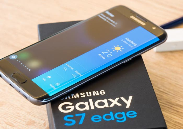 Galaxy S7 Edge negro