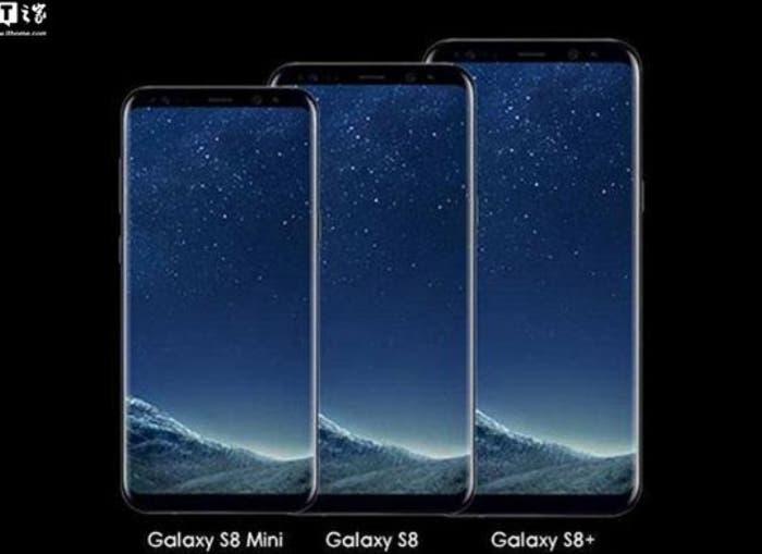 Filtradas las primeras características del Samsung Galaxy S8 Mini