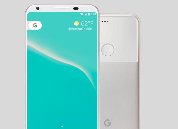 Google pixel dos pantalla