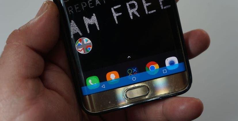 barra navegación Android