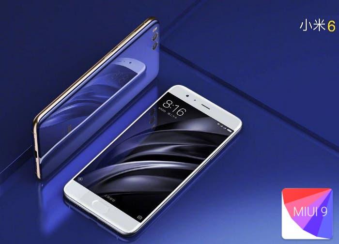 El Xiaomi Mi6 sería uno de los pocos en actualizar a MIUI 9