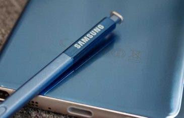 Nueva imagen del Samsung Galaxy Note 8 confirma su diseño
