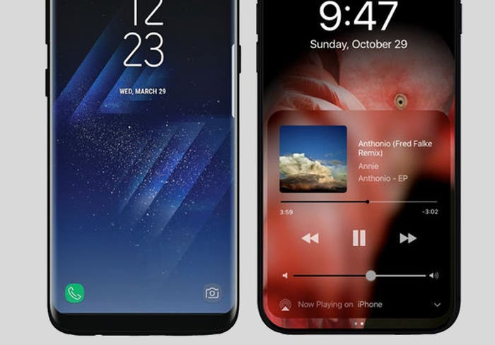 Así será el iPhone 8, ¿mejorando la pantalla del Galaxy S8?