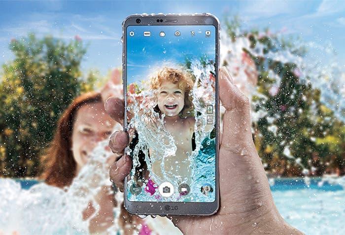 LG G6 agua render