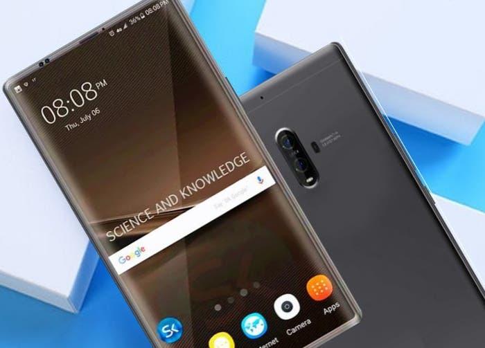 Reveladas algunas características del Huawei Mate 10, que vendrá con 4 cámaras