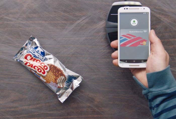 Android Pay pago
