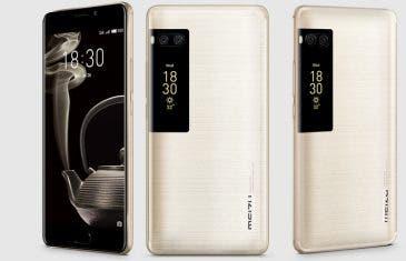 Es oficial: características y precio del Meizu PRO 7, el smartphone con dos pantallas
