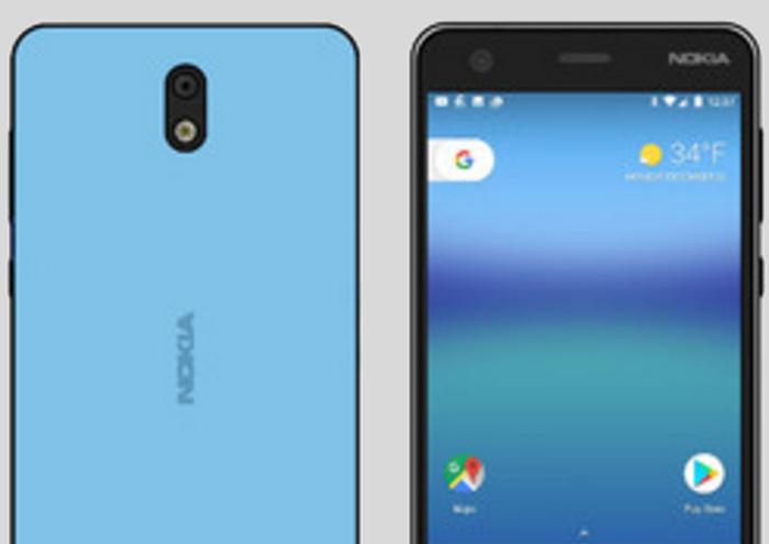 Nokia dos boceto