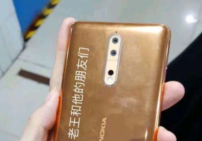 Filtradas las primeras imágenes del Nokia 8 que revelan su diseño