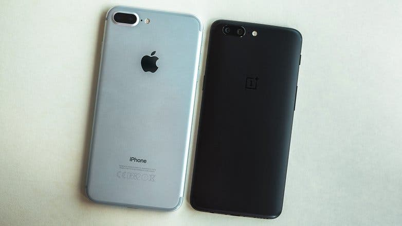 oneplus vs iphone 7