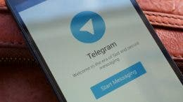 Telegram en movil android
