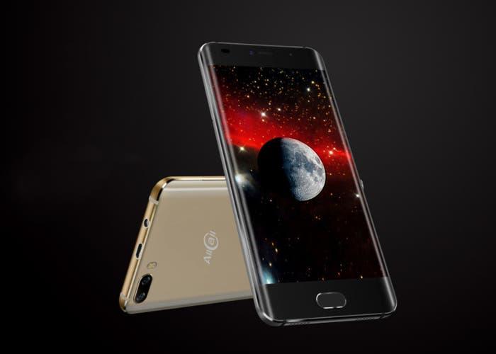 AllCall Rio, un smartphone con doble cámara y pantalla curva