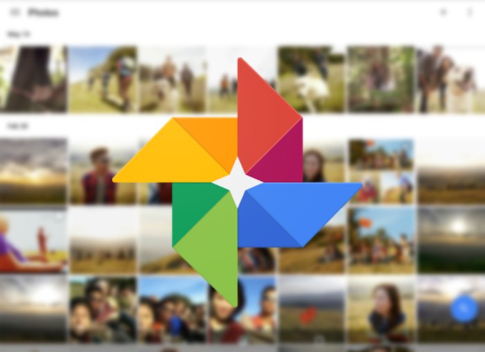 Google fotos montaje