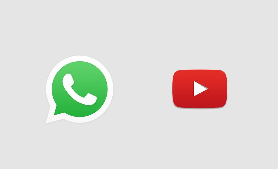 how to send youtube videos on whatsapp