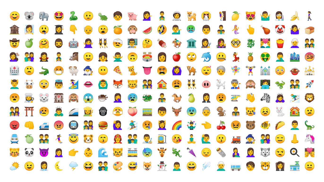 New Emojis Vs Old Android O Cat