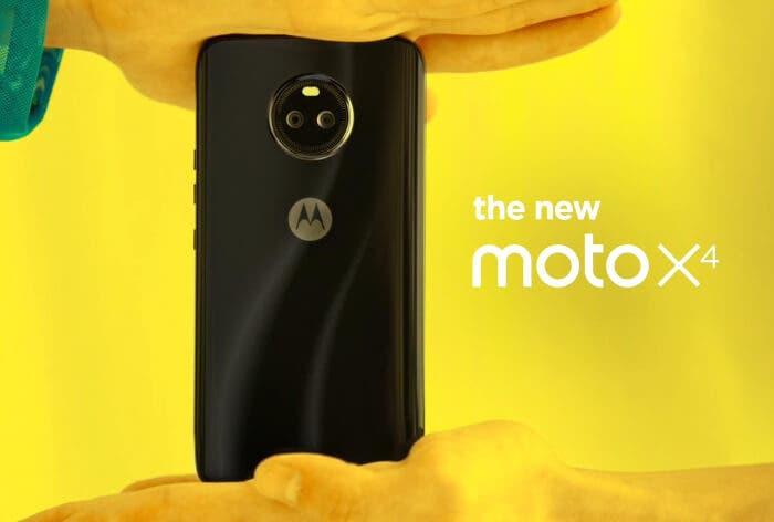 El Motorola Moto X4 es oficial: doble cámara y diseño premium