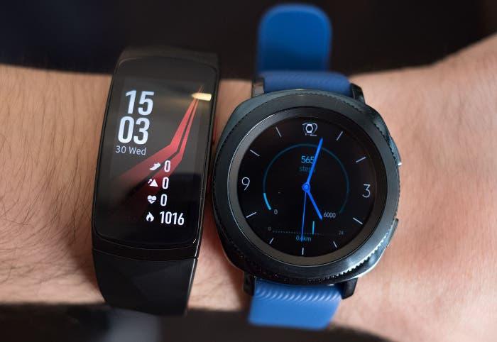 Samsung Gear Sport, Fit 2 Pro y Icon X 2018: así son los nuevos wearables de Samsung