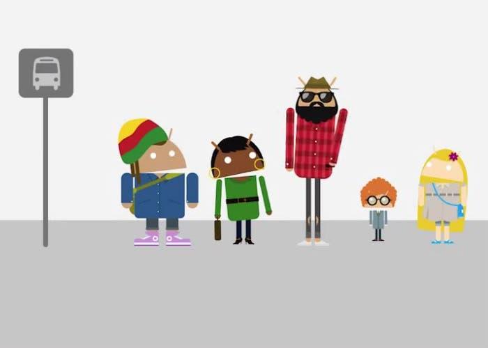 Cuáles son los 5 tipos de usuarios de Android
