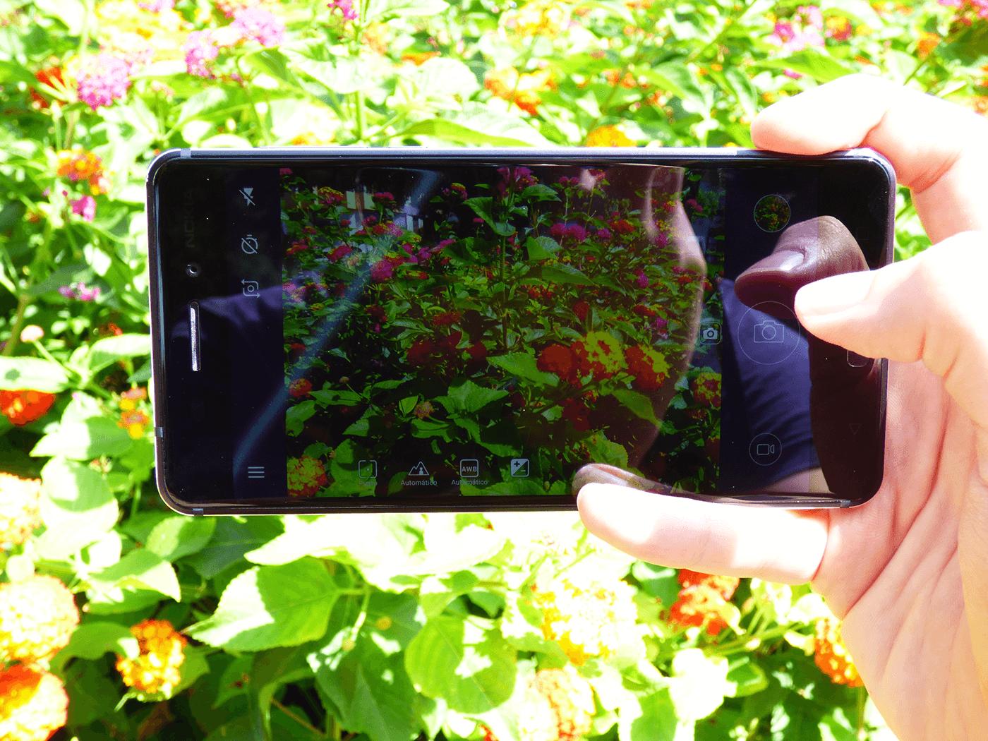 Aplicación de cámara del Nokia 6