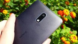 Cámara del Nokia 6