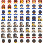 android oreo emojis policia