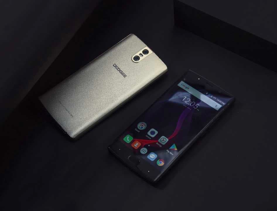 doogee bl7000 trasera frontal