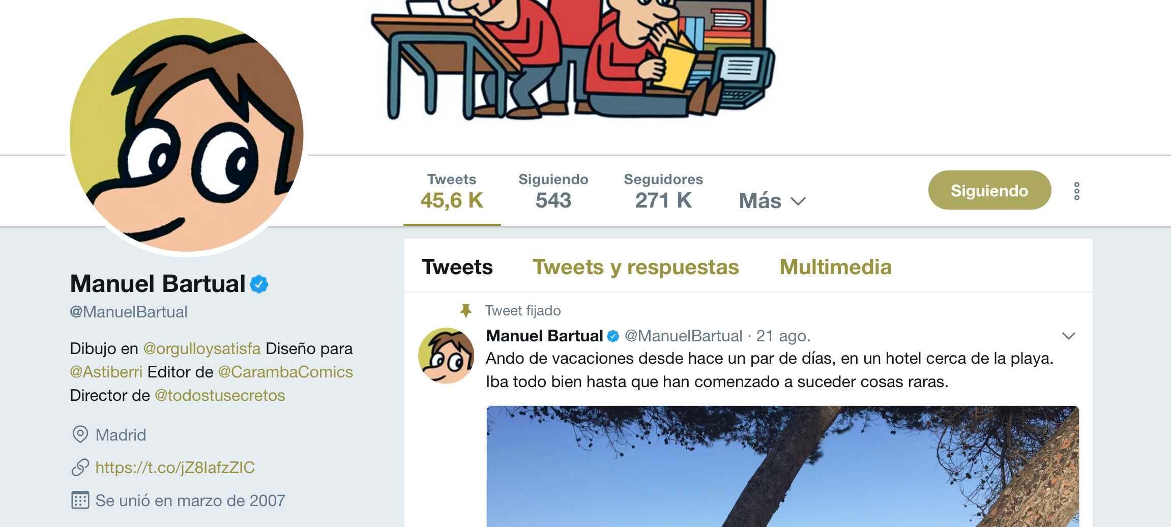 manuel bartual en twitter