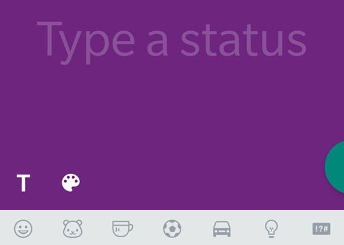 Los estados de WhatsApp, ahora con fondos de colores