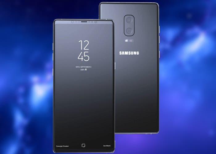Las características del Samsung Galaxy Note 8 filtradas en Antutu