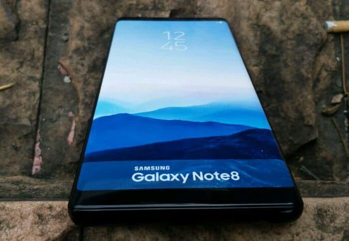 Estas fotografías reales del Samsung Galaxy Note 8 nos dejan con muchos detalles