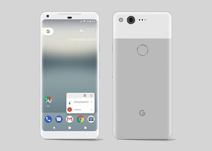 Fotos reales del Google Pixel 2, se va desvelando su diseño