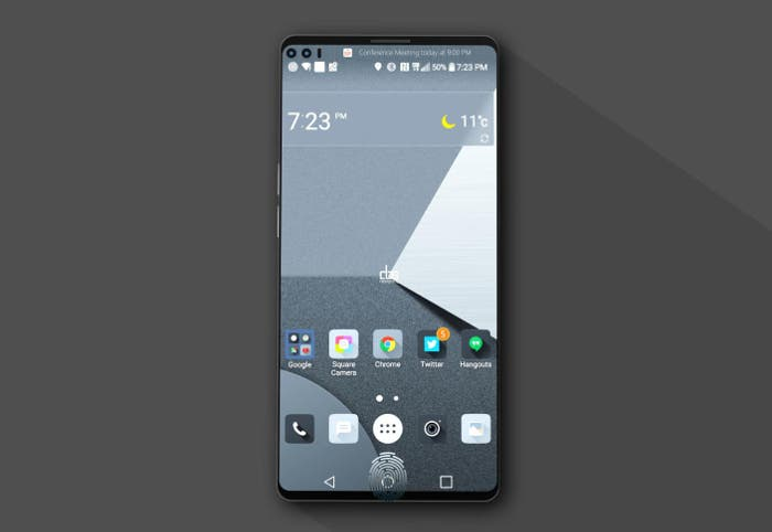 Confirmada la pantalla y el diseño del LG V30
