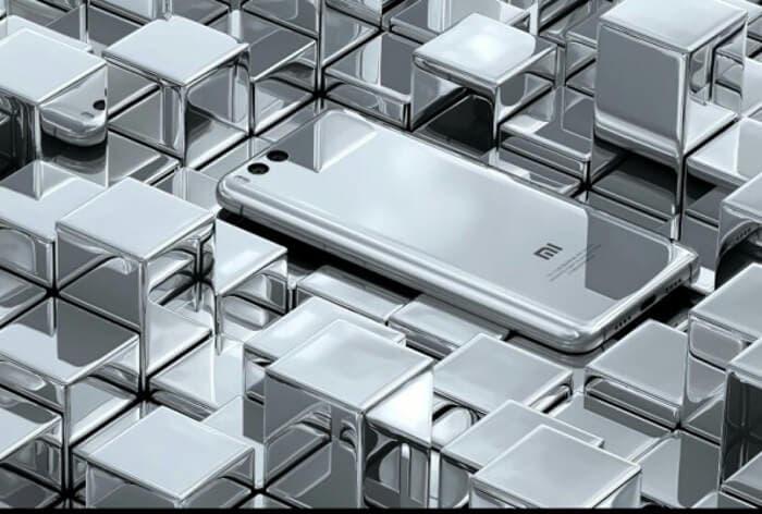 Xiaomi mi6 silver edition