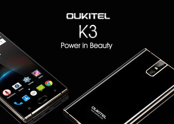 Oukitel K3, el smartphone más elegante y con unas especificaciones sorprendentes