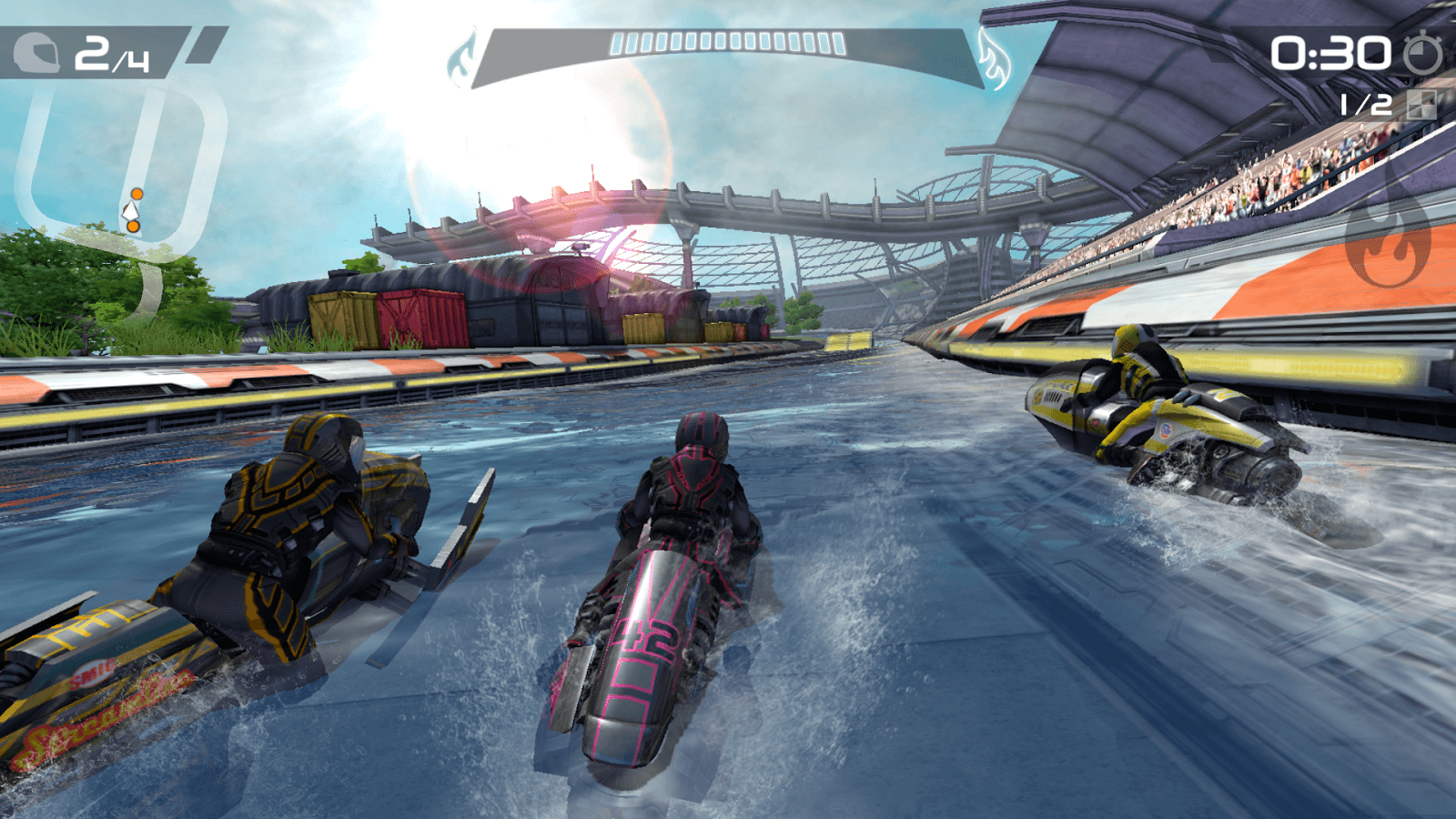 Gameplay de Riptide GP2