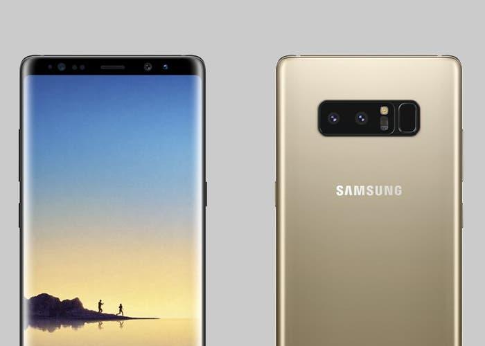 Confirmada la capacidad de la batería del Samsung Galaxy Note 8