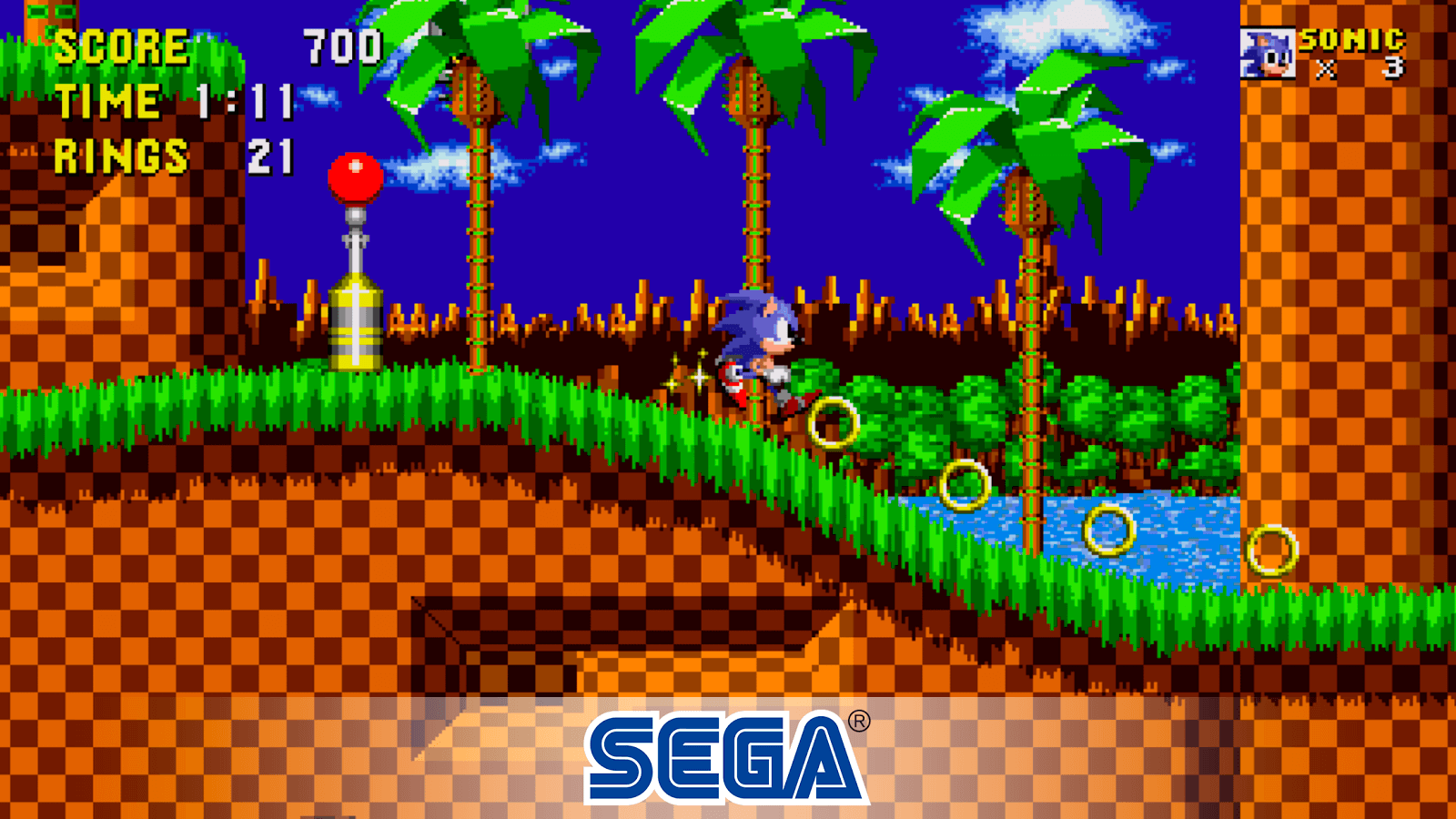 Gameplay de Sonic The HedgeHog