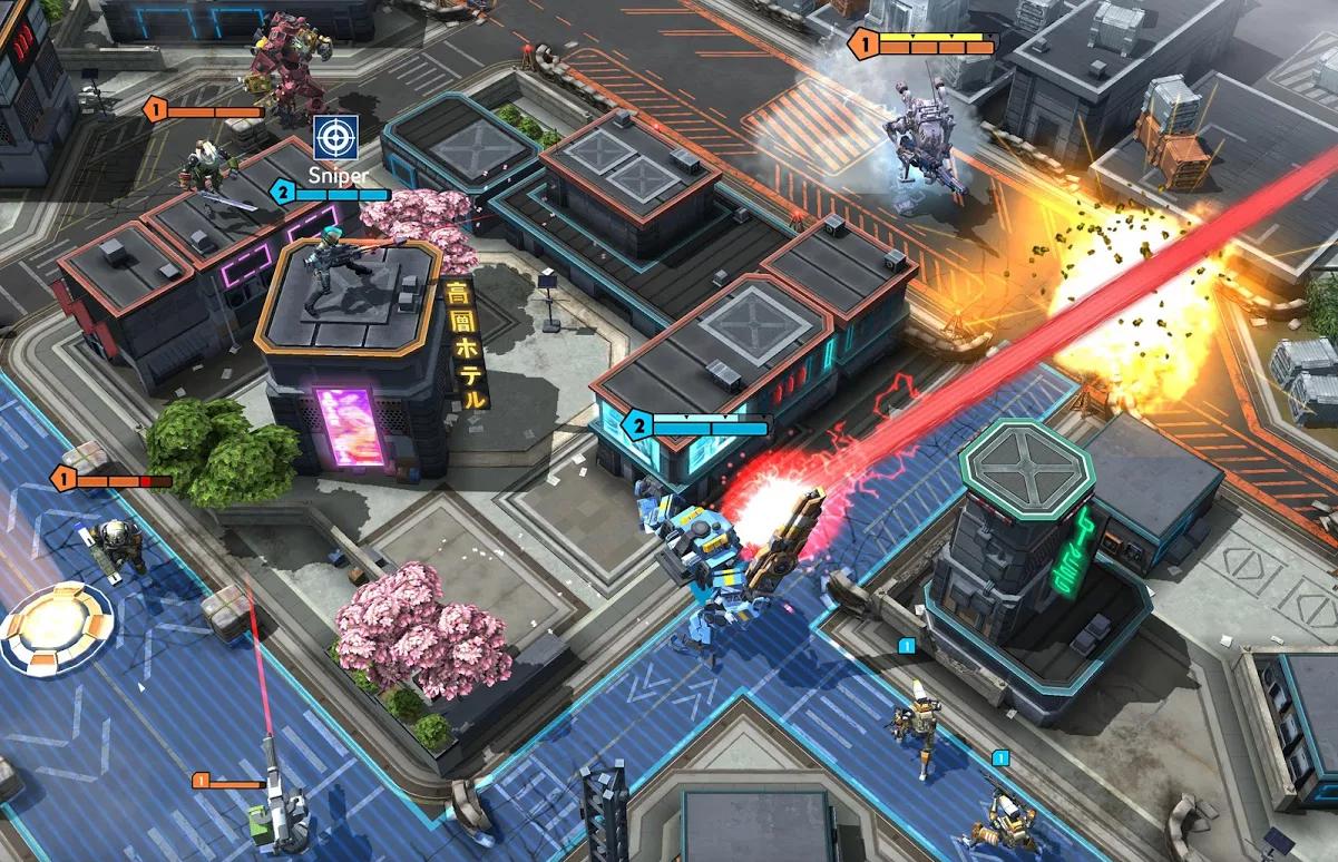 Gameplay de Titanfall Assault