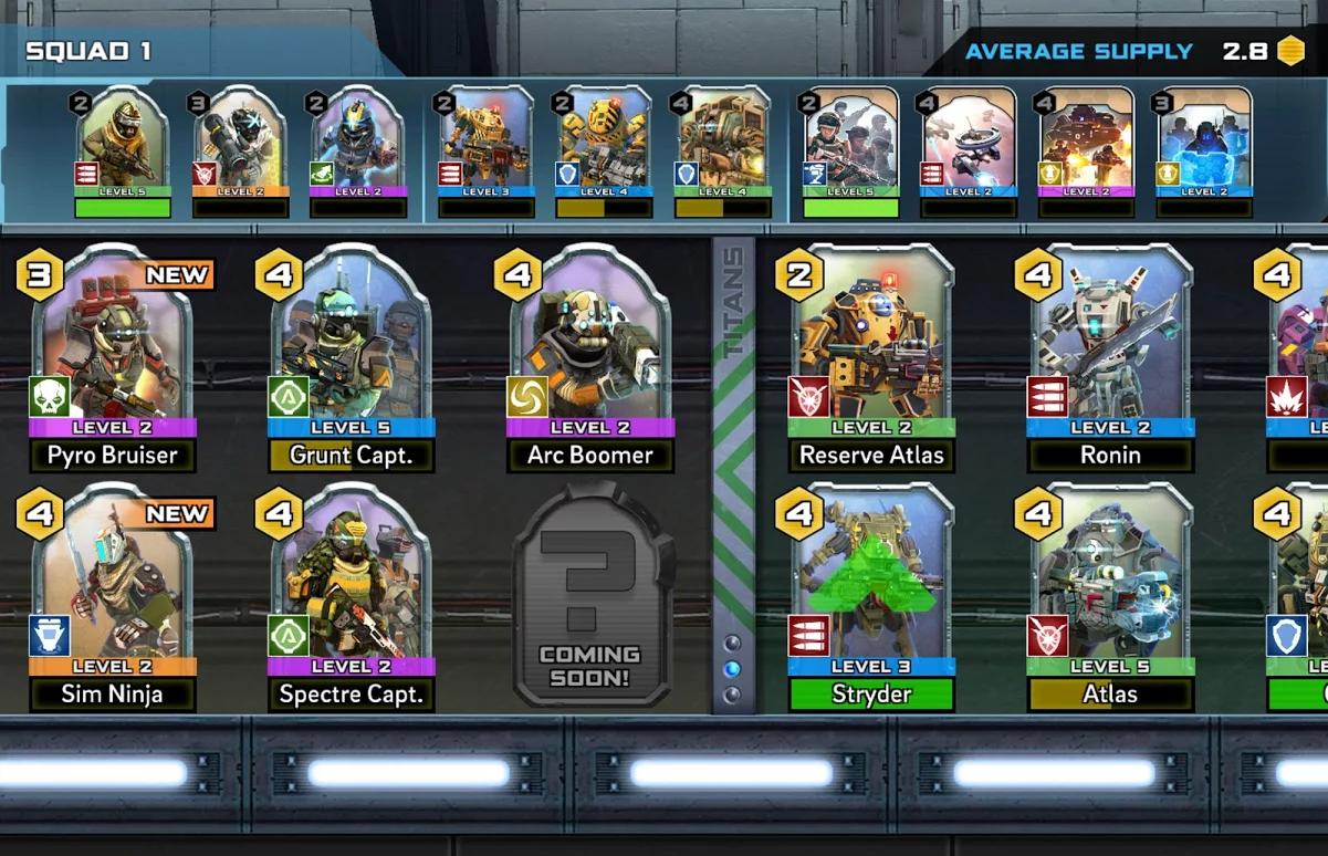 Escuadrón en Titanfall Assault